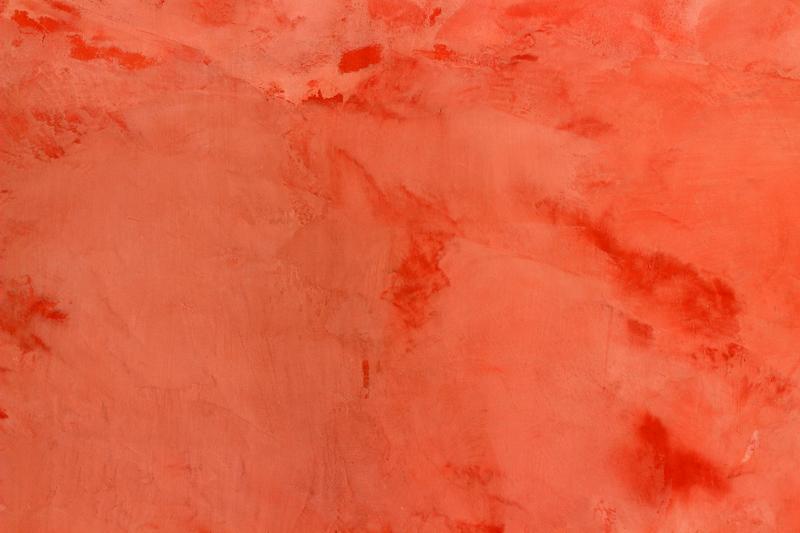 Venetian Plasterer Nottinghamshire | Orange venetian plaster | Plastering Rooms